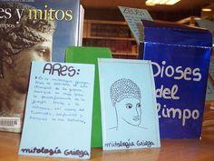 Déus de l'Olimp a la biblioteca. 2011