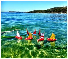 Our beautiful bobbity handmade boats - seaworth and built to last.