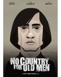Bardem, No Country for Old Men by Capitoni
