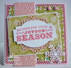 MFTWSC95 - Joyous Season by stampinjewelsd - Cards and Paper Crafts at Splitcoaststampers