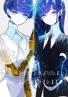 |Houseki no Kuni| Phosphophyllite x Lapis Lazuli