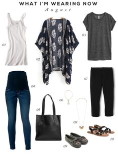 Early Fall Maternity Essentials