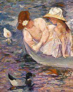 Mary Cassatt. See The Virtual Artist gallery: www.theartistobjective.com/gallery/index.html