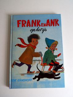 Frank en Ank op het ijs uit 1966 (Art.15-2718)