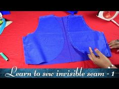 Class 19 - Part 2 How to make a Bolero jacket with invisible seam/ neat and easy method Sleeves Designs For Dresses, Dress Neck Designs, Blouse Designs, Bolero Pattern, Jacket Pattern, Stitching Classes, Tailoring Classes, Beginner Sewing Patterns, Basic Sewing