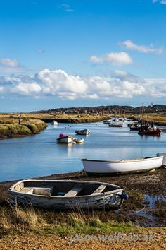 Boats at Blakeney on the coast of Norfolk.  To view the image in full size & to see my other travel images please click on the thumbnail. #blakeney #norfolk