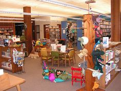 School library ideas--so many photos of amazing ideas for spaces.