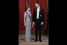 La reine d'Espagne resplandissante