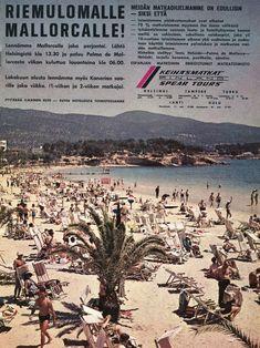 Suomalaisen seuramatkailun kasvuvuodet alkoivat 60-luvun puolivälin jälkeen, suosituimmat etelään kohdistuneet matkustusmaat olivat Kreikk...