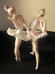 "Lladro Ballerina Figurines | LLADRO FIGURINE-BALLERINAS-#5497-Dress Rehearsal ""Ballet Conversando ..."