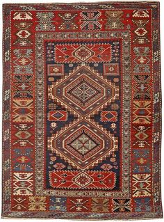 SHIRVAN RUG. Caucasus size approximately 3ft. 8in. x 5ft. 10in