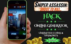 Sniper 3D Assassin hack tool is online cheat tool for generating unlimited coins and diamonds. With our online generator get unlimited Sniper 3D resources
