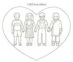 Jesus Love Coloring Pages