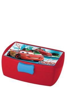 Pakkaa eväät nyt Autot-aiheiseen eväsrasiaan! Suljettavassa rasiassa on irrotettava lokero. Koko 16 x 6,5 x 12 cm.