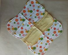 Burp Cloth. Perfect size. Very absorbent. Set of 3 Neutral pattern Polka dots Yellow