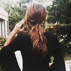 #Ponytail with a bow - Me mudo del mundo !