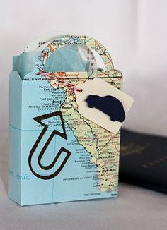 Map Gift Bag