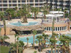 Waterscape Vacation Rental - VRBO 157915 - 2 BR Okaloosa Island Condo in FL, Waterscape Beachcondo/Lazy River/Pools/Videogames(Xbox360&Ps2)