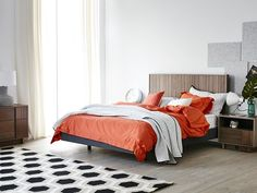 Southbank Queen Bed Frame (with upholstered floating base) main product image 1