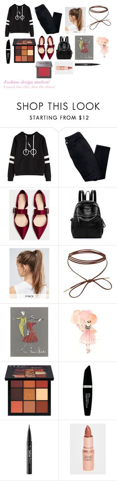 """""""For Musicfreakofnature (friend) - musicfreakofnature's ideal wardrobe by me: Fashion design student!"""" by sarah-m-smith ❤ liked on Polyvore featuring Avon, NIKE, Huda Beauty, Max Factor, Kat Von D, Gerard Cosmetics and Urban Decay"""