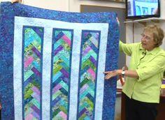 Webinar of Eleanor Burns Braid in a day quilt pattern.