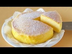 Genius Soufflé Cheesecake Makes Delicious Magic With Only 3 Ingredients. Also known as Japanese Cheesecake 3 Ingredient Cheesecake, Cheesecake Recipes, Dessert Recipes, Simple Cheesecake, Just Desserts, Delicious Desserts, Yummy Food, Delicious Dishes, Cheese