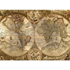 Ancient Map Rug