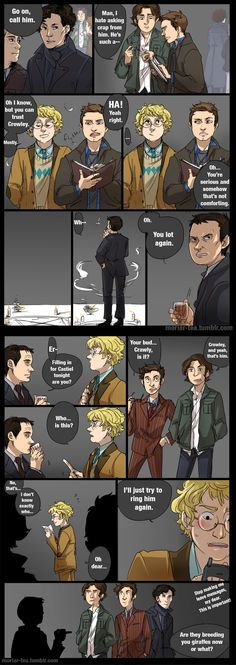 Good Omens / Supernatural - Aziraphale and Crowley play ...