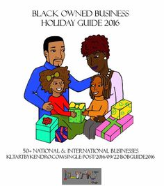 Black Owned Business Holiday Guide 2016 is here!  #kltart  #blackowned #blackownedbusiness #blackbusiness #blackbiz #buyblack #kwanzaa #happykwanzaa #blackownedbusinesses #blackbusinesses #ujamaa #groupeconomics #cooperativeeconomics #blackwallstreet