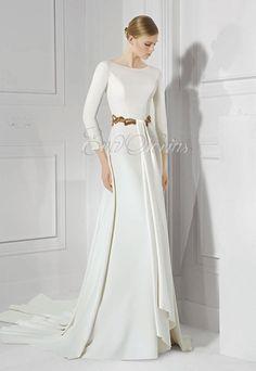 Vestido de novia Patricia Avendaño 2016 Modelo 2637 en Eva Novias Madrid.  #vestidosnovia #moda #fashionbridal #weddingdress #evanovias