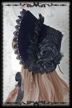 --> Newly Added: Infanta ***Rose Sanctuary*** Lolita Bonnet --> Key Features: Detachable rose pin, Detachable bow pin --> IN STOCK >>> http://www.my-lolita-dress.com/infanta-rose-sanctuary-lolita-bonnet-inf-280