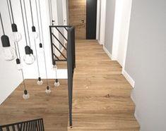 Aranżacje wnętrz - Schody: Biało szary przedpokój - Małe średnie wąskie schody dwubiegowe zabiegowe drewniane, styl skandynawski - OES architekci. Przeglądaj, dodawaj i zapisuj najlepsze zdjęcia, pomysły i inspiracje designerskie. W bazie mamy już prawie milion fotografii! Hardwood Floors, Flooring, Interior, Wood Floor Tiles, Wood Flooring, Indoor, Interiors, Floor