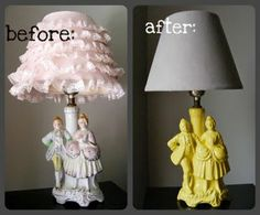 someday i could make ugly lamps chic!