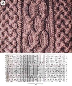 Traditional Aran Knitting Patterns - Crochet and Knit Cable Knitting Patterns, Crochet Baby Hat Patterns, Knitting Stiches, Knitting Charts, Knit Patterns, Stitch Patterns, Free Knitting, Knit Stitches, Baby Patterns