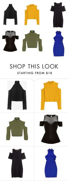 """""""cut out shoulders spring 2016"""" by xoxomake on Polyvore featuring moda, Exclusive for Intermix, River Island, H&M e Elizabeth and James"""