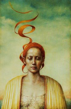 'Swept Away'...Artwork of Pam Hawkes.  -Penny-