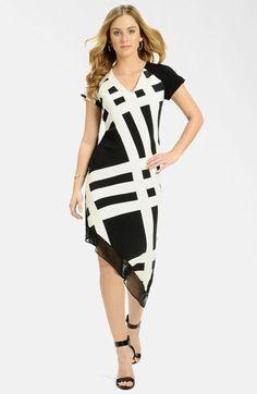 LABEL by five twelve Print Asymmetrical Hem Dress available at #Nordstrom