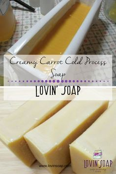 Have you been to Holly's blog, Sparklebrook? If not… head on over there and check out her beautiful soap. The other day she posted a Carrots and Cream soap. Drool. I make a soap wit…