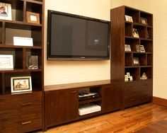 Indah Dark TV Unit   This Solid Wood TV/Plasma Unit Is The Perfect Solution  For Housing A Plasma Screen Television. | Watch This Space | Pinterest | Tv  ...
