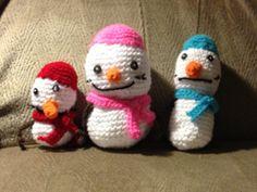 Our family as snowmen Snowmen, Crochet Projects, Fashion, Moda, Snowman, La Mode, Fasion, Fashion Models, Trendy Fashion