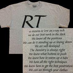 Radiologic Technologist (RT) X-Ray T-shirts ! ! !
