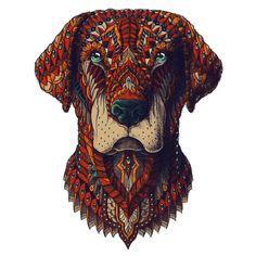Image of Labrador Sticker