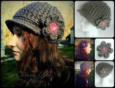 ALL SIZES Back Track Beanie by EternalLightShop on Etsy, $22.00