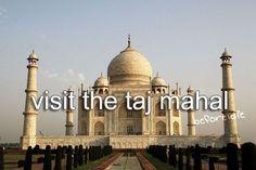 Taj Mahal, Agra - Tripadvisor - Yet another item on my bucket list. To visit the Taj Mahal. Bucket List Life, Life List, Bucket List Tumblr, Taj Mahal, Bucket List Before I Die, Travel List, Trip Planning, Places To Travel, Trip Advisor