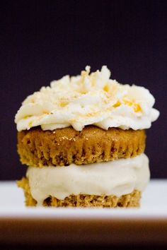 Cupcake Ice Cream Sandwich | 22 Ice Cream Sandwiches That Dared To Dream
