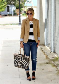Chasing Davies: 8 Not Boring Neutral Outfits - Shanna via @sallymcgraw