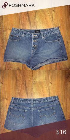 6d76d5d58c Vintage 80s Lee High Waisted Cut Off Jean Shorts   My Posh Closet ...