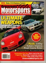 Grassroots Motorsports Car Magazine November 2010 Track Racing Race