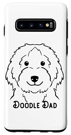 Galaxy S10 Doodle Dad Love cute puppy Design Case One in a Melon Dog Lover Gifts, Dog Lovers, Personalised Christmas Presents, One In A Melon, Presents For Men, Design Case, Goldendoodle, Happy Dogs, Protective Cases