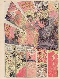 Swamp Thing #34, Alan Moore, Stephen Bissette and John Totleben
